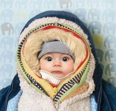 Bundled up baby - Got heat??? - Easy Cooling & Heating - install a ductless heat pump