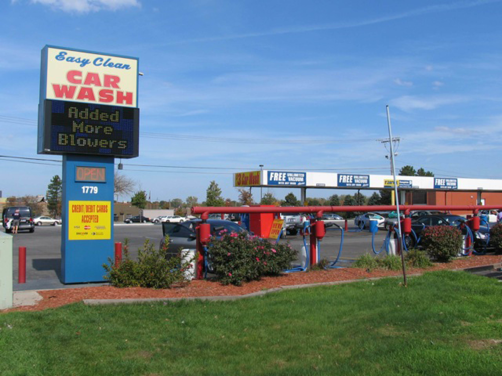 Easy Clean Car Wash location in Schererville IN