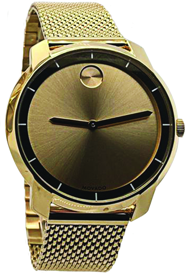 Gold watch at Eclipse Jewelry