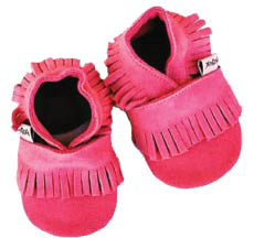 Kids shoes made from natural products