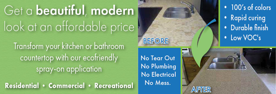 Eco Countertops, Environmentally Friendly, Counters, Kitchens, Baths, Quick