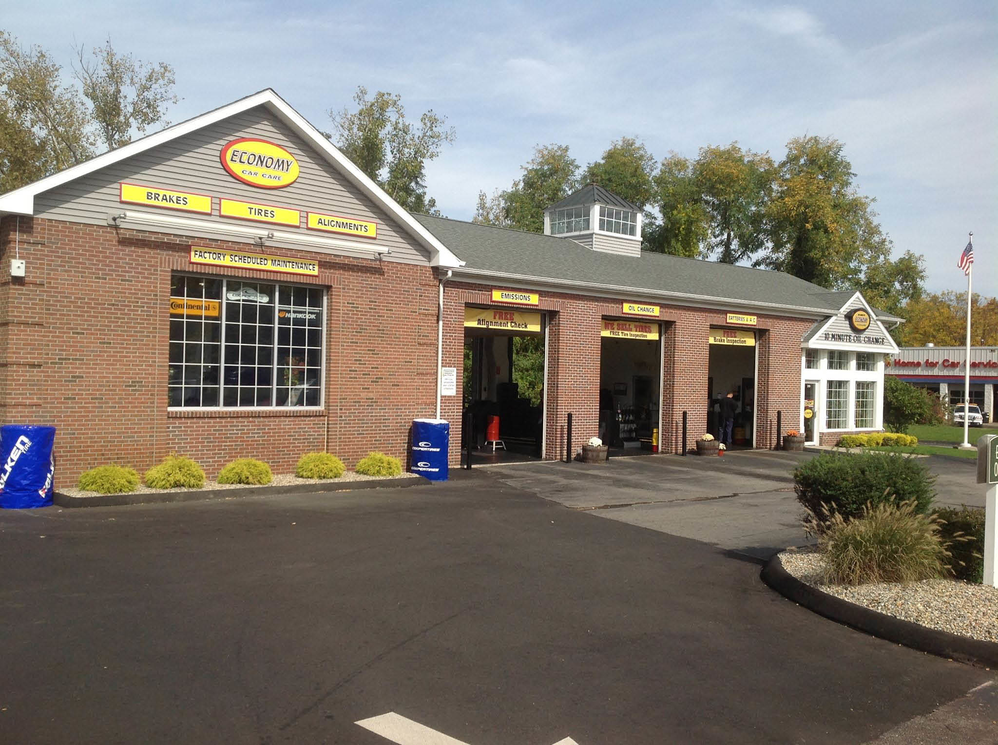Get a 10-minute synthetic oil change in Manchester, CT