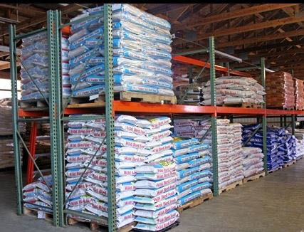 photo of feed from Ed Bock's Feeds & Stuff in Pinckney, MI and Bock's Big Acre in Brighton, MI