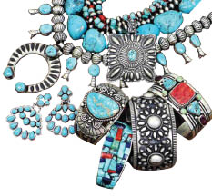 Sell us your jewelry at Ed Marshalls buy sell store in Avondale AZ.  A pile of old jewelry.