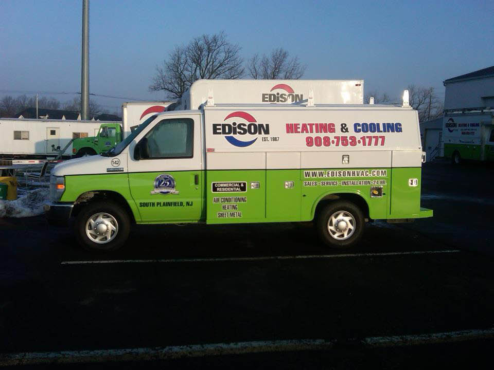 Edison Heating and Cooling Truck