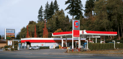 Edmonds 76 gas station and car wash - Edmonds Kwick 'n Kleen