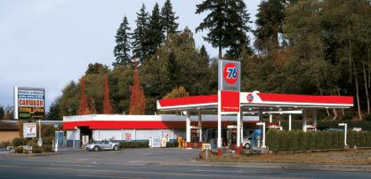 Edmonds 76 gas station and car wash - Edmonds Kwick 'n Kleen