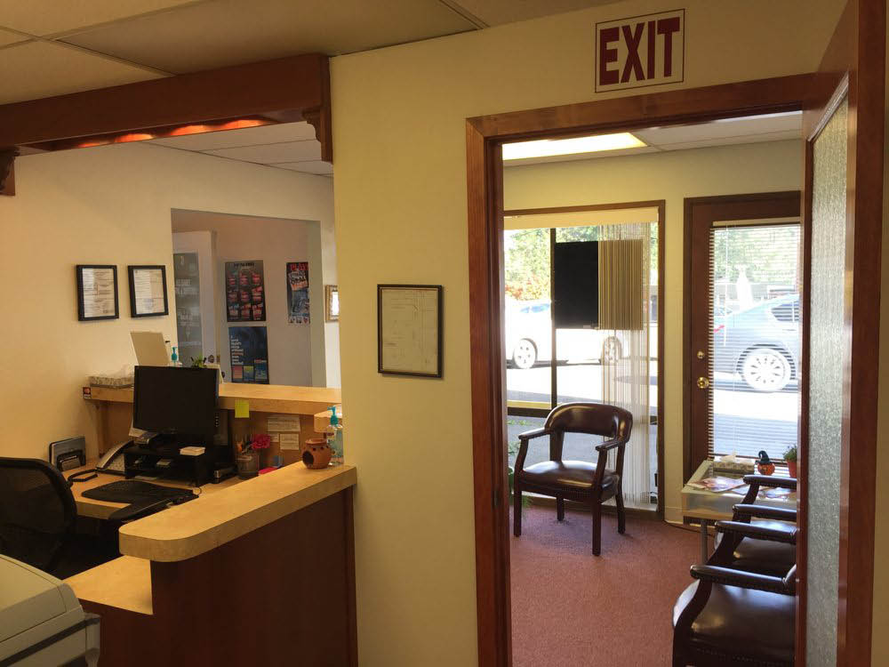 Lobby of All Family Dental and Dentures in Edmonds, WA - Lynnwood, WA - dental office - dentist office