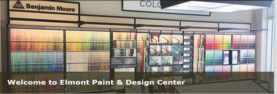 Elmont Paint & Design Center-Long Island, NY banner