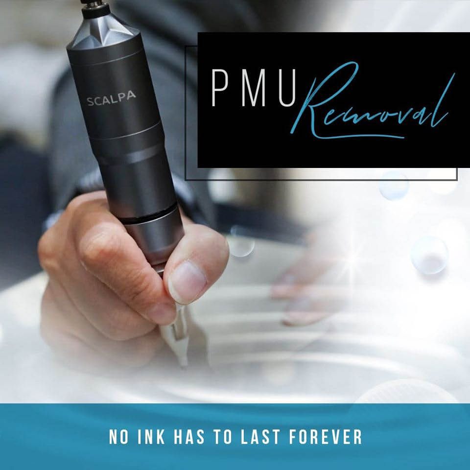 PMU removal - no ink has to last forever - tattoo removal - permanent makeup removal services from Effortless Beauty in Lakewood, WA