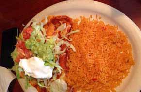 El Sombrero mexican restaurant louisville KY & Jeffersonville IN Enchiladas Rancheros