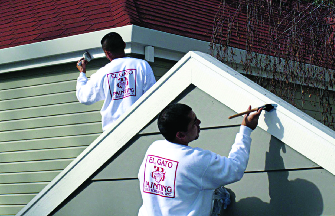 Detailed residential painting near Campbell, CA