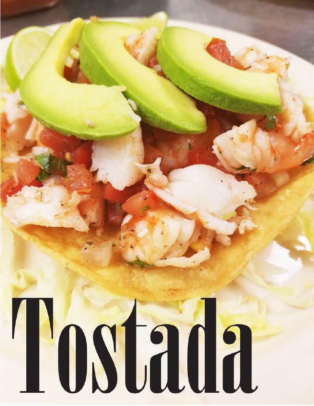 Delicious and fresh tostadas from El Matador
