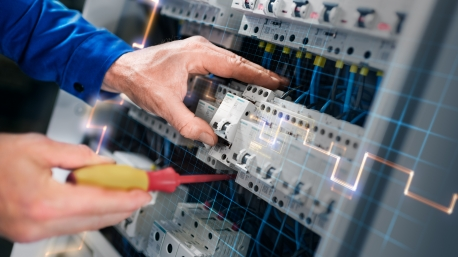 Electric company, voltage testing
