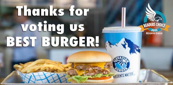 Visit Elevation Burger in Wyomissing