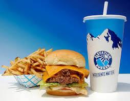 Get a hamburger in Sinking Spring