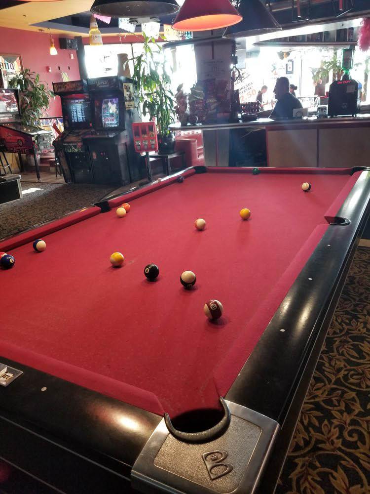 arcade games and billiards