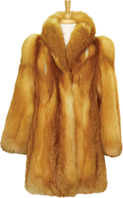 photo of fur coat cleaned by Elite Cleaners in Macomb Twp, MI
