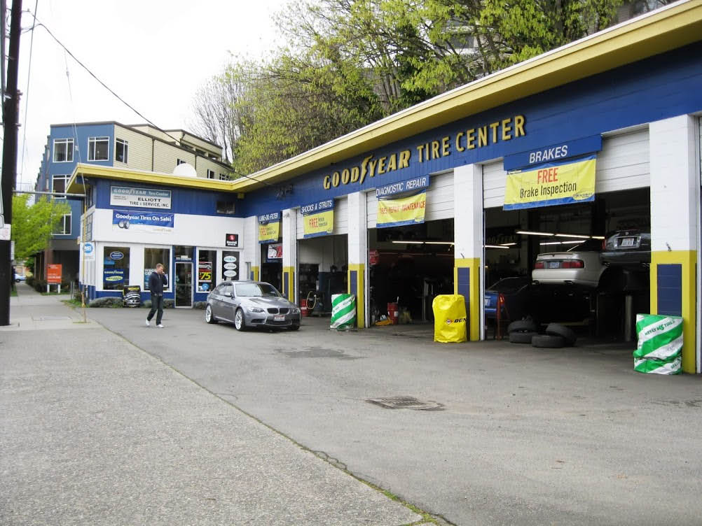 We offer Goodyear tires and auto repair