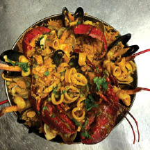 Elora's Paella specialty dish deals