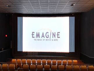 photo of Emagine movie screen