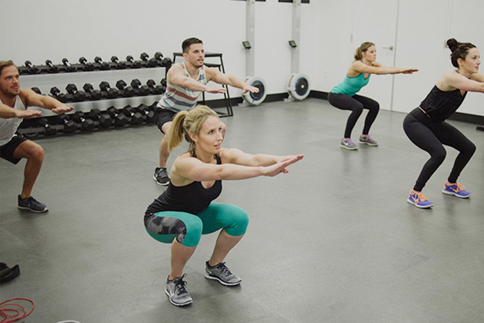 Fitness classes at Emerald City Athletics in Everett, WA - yoga - barre - boot camp - pilates - HIIT