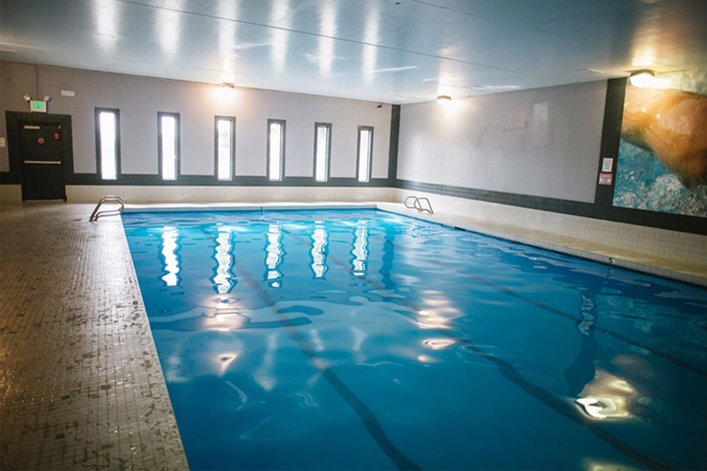 Emerald City Athletics - Olympic style swimming pool - sauna - steam room - whirlpool - Everett, WA - health club in Everett, WA