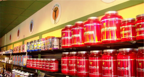 Large selection of dietary supplements and vitamins offered at many Emerald City Smoothie locations in Western Washington