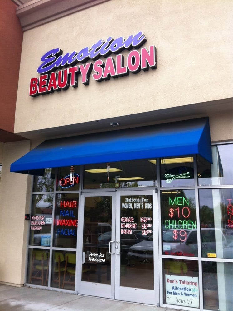Visit Emotion Beauty Salon located in San Leandro, CA