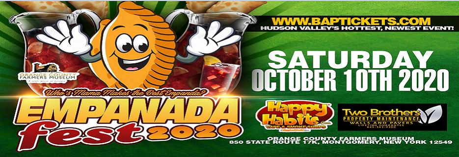 Hudson Valley Empanada Fest 2020 in NY banner