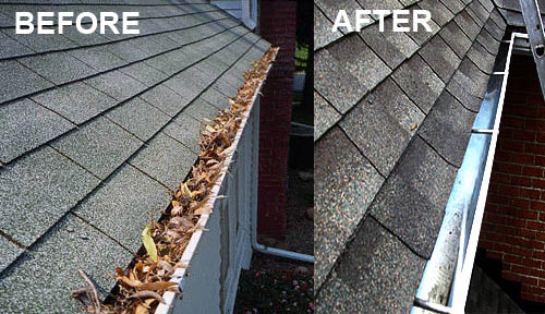Gutter cleaning provided by AAA Empire Home Improvement in Fairfield NJ