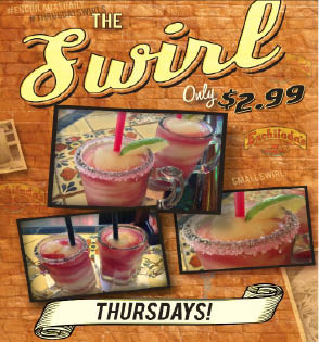 Thursdays' Happy Hour - Give it a Swirl