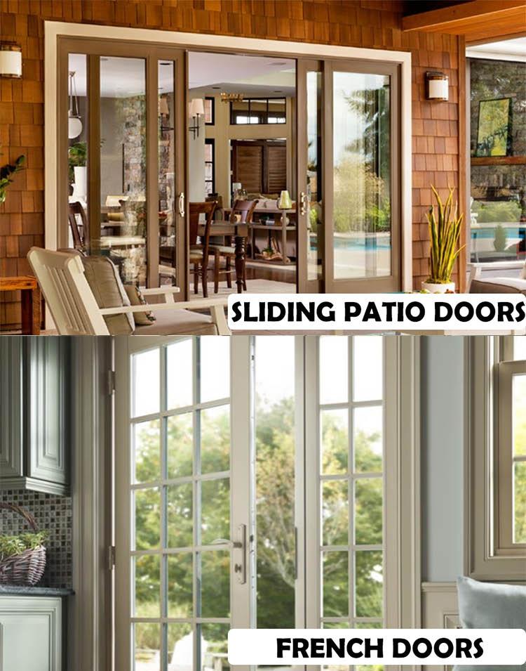 Sliding patio doors - French doors - window installation - door installation - Energy Exteriors NW - home improvement coupons near me - window contractors