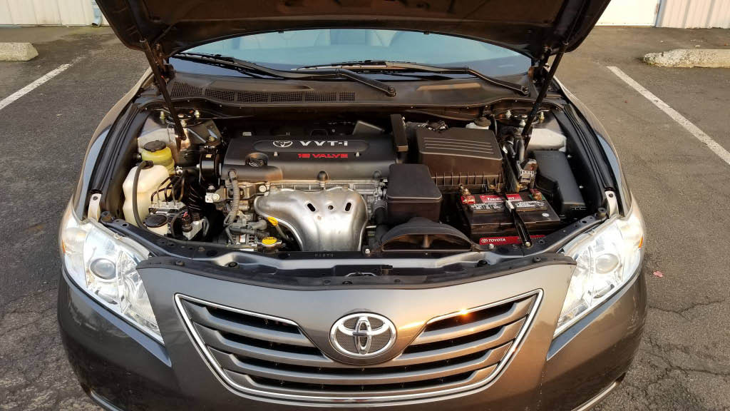 Engine bay detailing by Reeves Auto Detail in Buckley, WA - auto detailing near me - auto detailing coupons near me - auto detail coupons near me