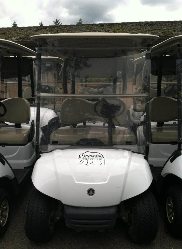 Enumclaw Golf Course - golf carts - food - 18 holes - round of golf