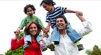happy & healthy family