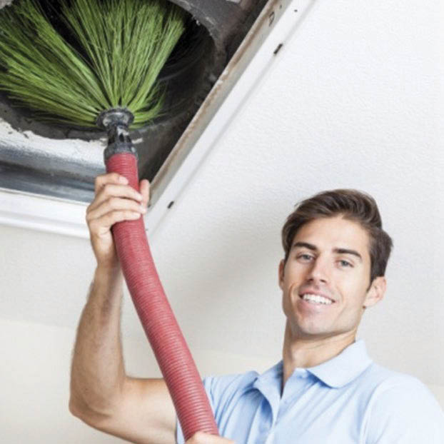 Cleaning of filthy air ducts