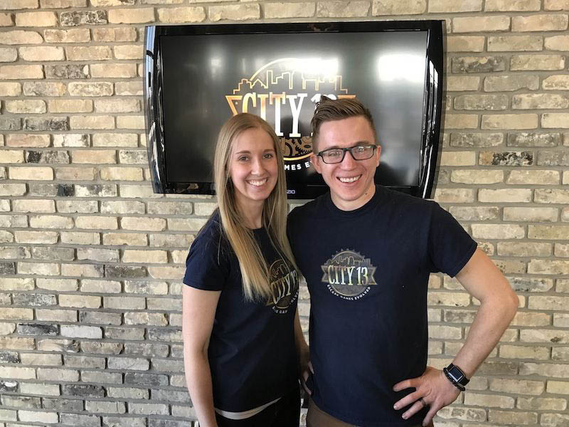 City 13 Escape Room Oak Creek Owners. Meet The Dynamic Duo Behind City 13.