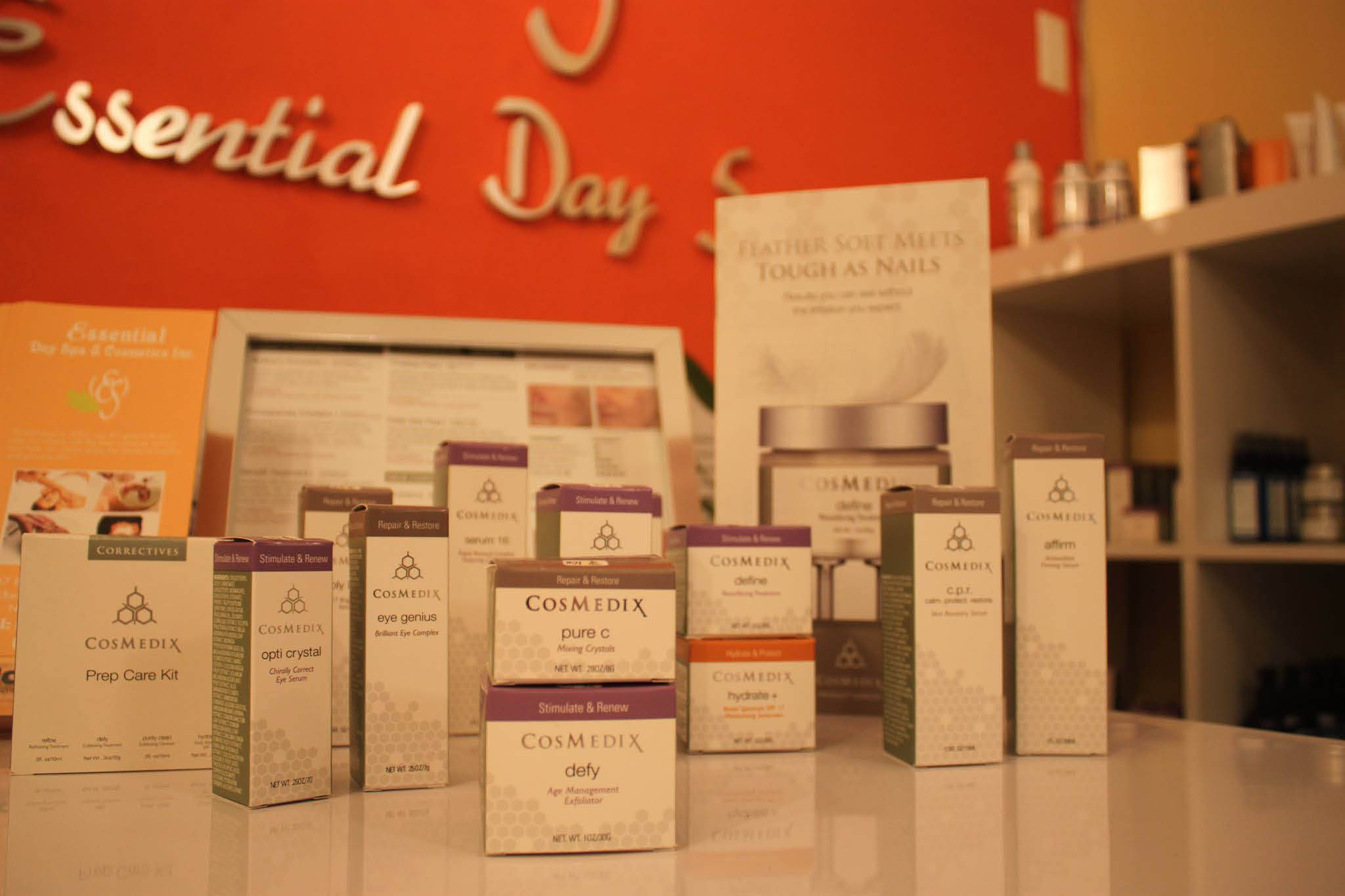 We sell CosMedix for the ultimate in skin care regimens