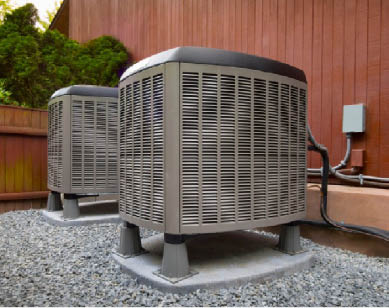 Air conditioning repair and installation provided by Estes Services