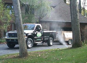 photo of sprinkler blow out performed by Ever So Green in Howell, MI