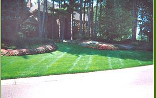 photo of lawn maintained by Ever So Green in Howell, MI
