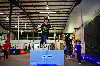 gymnastics training in Galloway, NJ; Everest Gymnastics; birthday party venues