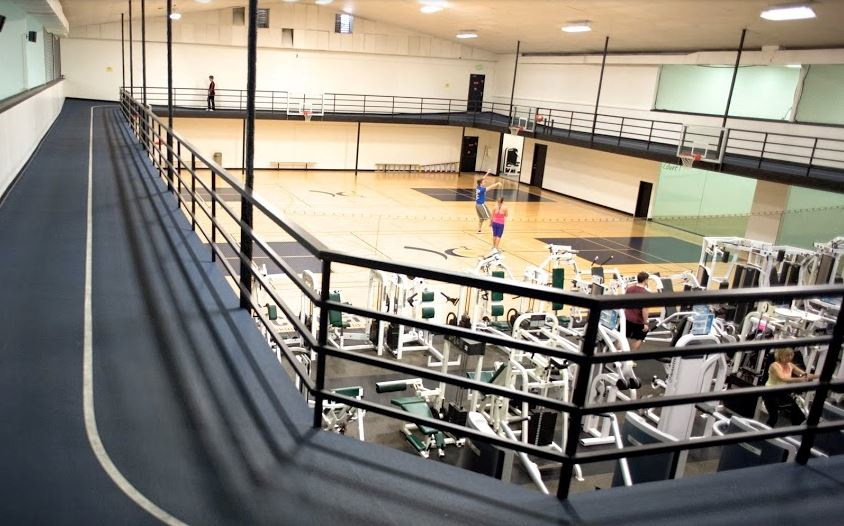 Emerald City Athletics as a large gym and a running track - Everett, WA