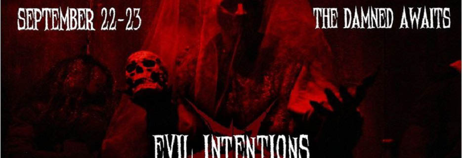Evil Intentions Haunted House in Elgin, IL Banner ad