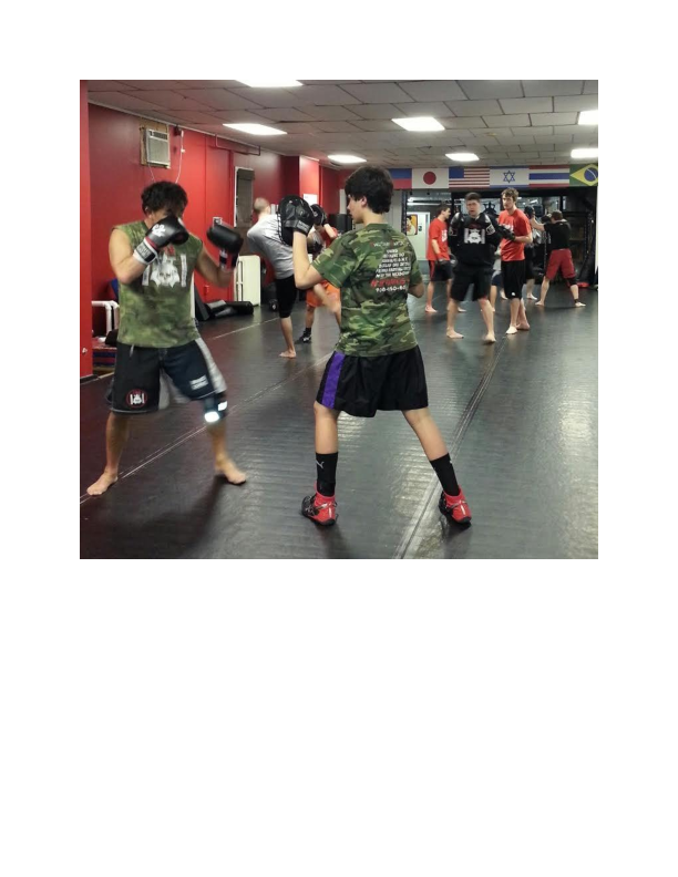 Teen Martial Arts Class at Evolutionary Martial Arts in Hackettstown NJ