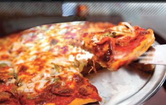 Try one of our delicious gourmet pizza selections today!