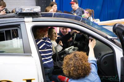 Squad Car at Woodbury Community Expo