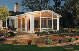 photo of screen porch from Tip Top Construction in San Antonio, TX
