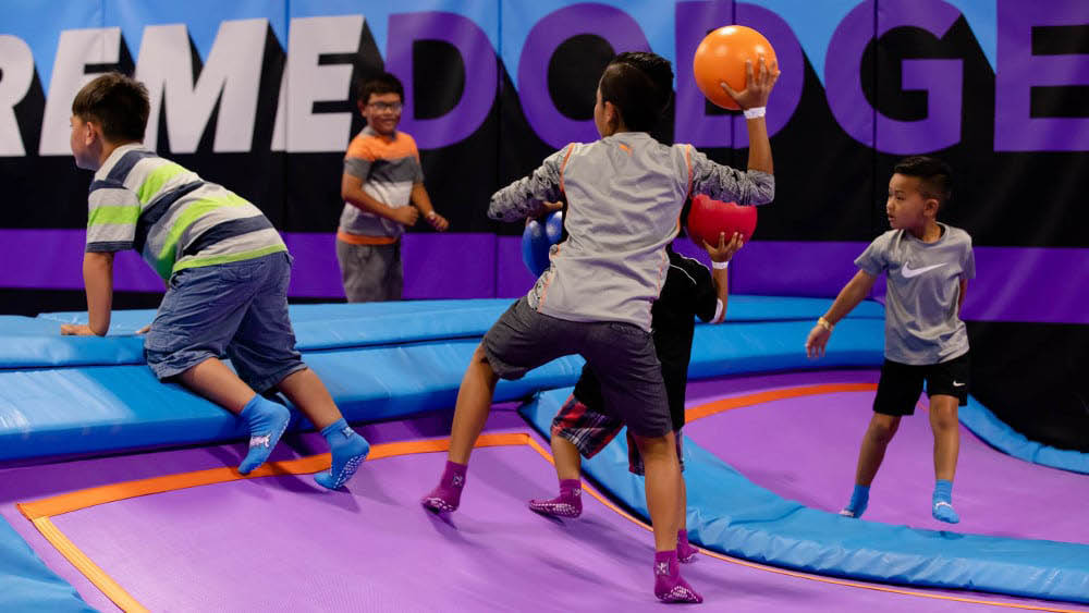 extreme dodgeball altitude trampoline rochester ny
